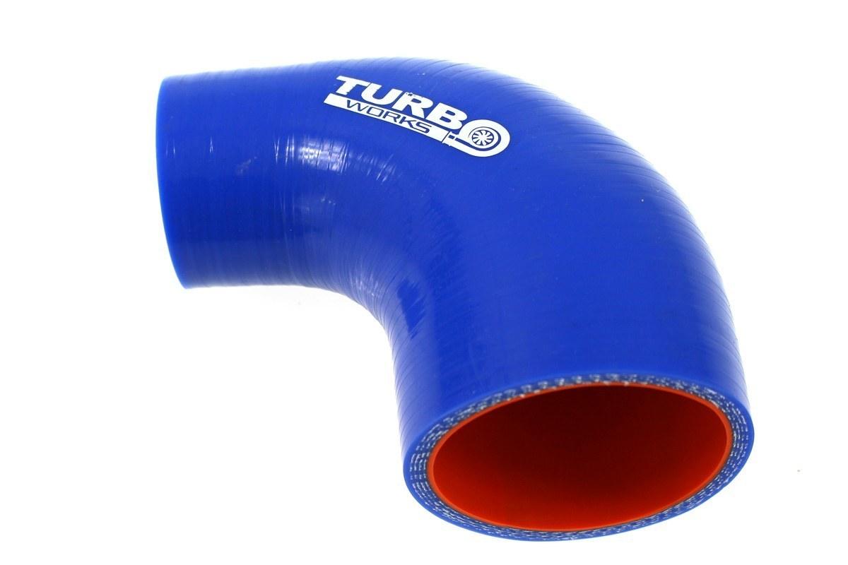 Redukcja 90st TurboWorks Pro Blue 45-51mm - GRUBYGARAGE - Sklep Tuningowy